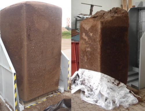 Peat moss substrate storage